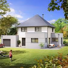 plan maison 4 chambres etage plan maison contemporaine 4 chambres avec garage olympe maison