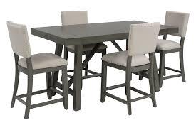 nebraska counter height dining room mor furniture for less