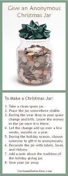 give a jar as a caring tradition