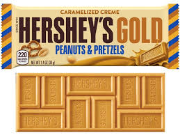 gold chocolate hershey u0027s unveils first new flavor in 22 years