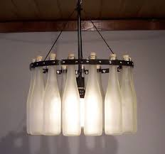 Glass Bottle Chandelier How To Make A Wine Bottle Chandelier Beer Bottle Chandelier