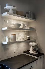 astonishing floating shelves with lights charming ideas shelf etsy