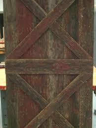 Reclaimed Barn Door Hardware by Double X Sliding Barn Wood Door Reclaimed Wood Rustic Style