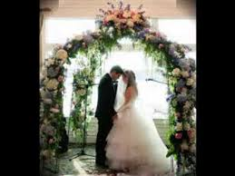 Wedding Archway Simple Wedding Arch Decorating Ideas Youtube