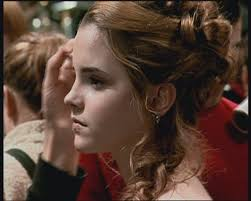hermione yule ball hairstyle hermione s ball hair google search woman crush pinterest