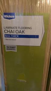 Laminate Flooring Wickes Used Chai Oak Laminate Flooring In Rm11 Hornchurch For 15 00