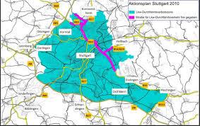 Stuttgart Germany Map by Marburg