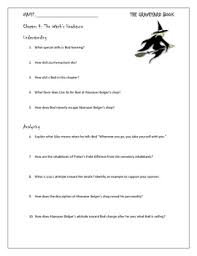 the four questions book the graveyard book chapter 4 study questions for novel unit by