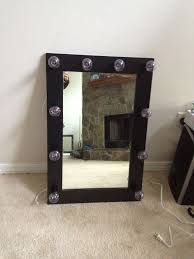 Lighted Makeup Vanity Mirror Best 25 Lighted Makeup Mirror Ideas On Pinterest Diy Makeup