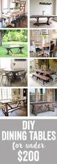 diy dining table free plans diy dining table outdoor tables and