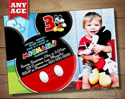 custom mickey mouse invitations stephenanuno com