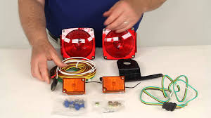 review of peterson trailer lights 432800 etrailer com youtube