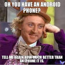 why iphone is better than android are you sure that android is better than windows phone
