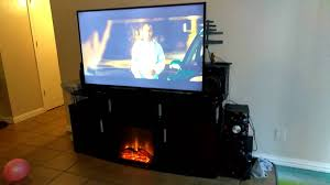 walmart target carson fireplace tv stand for tvs up to 70