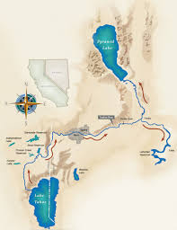 Tahoe Map Tahoe Research Truckee River System