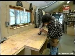part 1 of 2 how to build miter saw bench w storage norm abram