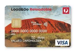 reloadable credit card load go cards australia post
