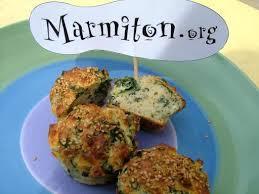 cuisiner blettes marmiton muffins blancs et verts blettes et feta recette de muffins