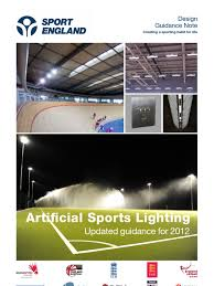 artificial sports lighting design guide 2012 051112 lighting