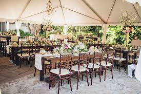 shabby chic wooden farm table reception decor wedding