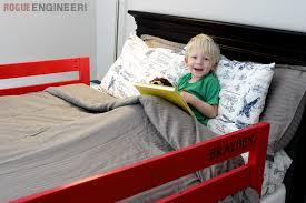 Bed Rail Toddler Diy Toddler Bed Rail Free Plans Built For Under 15