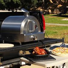 table top pizza oven portable propane table top pizza oven