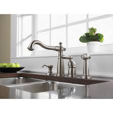 Delta Stainless Steel Kitchen Faucet Delta Stainless Steel Victorian Collection Single Handle Kitchen