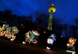 christmas lights in niagara falls ontario caa winter festival of lights on now at the falls toronto sun