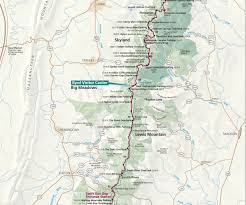 Virginia Capital Trail Map by Appalachian Trail Challenge Richmond College University Of