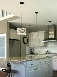 Two Tier Kitchen Island Designs Pendant Lights Eat In Kitchen Island Designs Four Light Drum