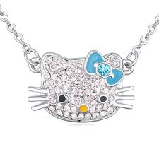 personalized jewelry for kids aliexpress buy pink cat pendant necklace jewelry