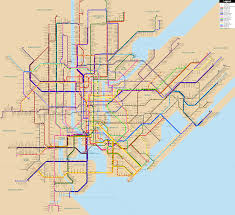 Nyc Subway Map Brooklyn by Fantasy Nyc Subway Map Update Larger Version On Maps On The Web