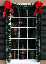 Ideas For Window Decorations At Christmas by Altogether Christmas Decorating Outdoor Christmas Decorating
