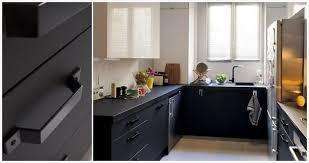 Cuisine Noir Mat attraper Les Yeux  The HP Kitchen