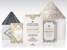 Art Deco Wedding 1920s Art Deco Wedding Invitation On Behance