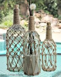 Idea For Home Decor Best 25 Glass Bottle Crafts Ideas On Pinterest Glass Bottle