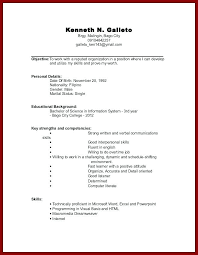 experienced resume sample no experience resume u2013 athousandwords us