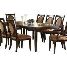 steve silver montblanc dining table with two 18 inch leaves mb500t