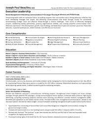 winning resume non profit director resume template example