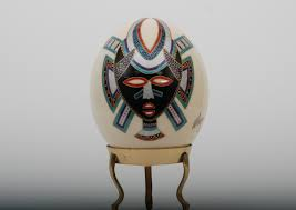 painted ostrich egg mazo painted ostrich egg collection for sale