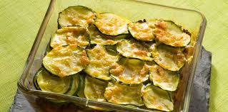 cuisiner courgettes gratin de courgettes au thon facile recette sur cuisine actuelle