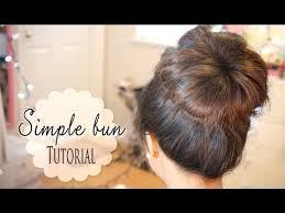 cool hair donut cute simple hair bun without sock donut donut maker youtube