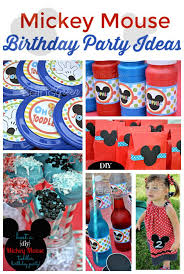 mickey mouse birthday party diy mickey mouse birthday party ideas