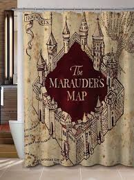 harry potter home decor alluring custom shower curtains and best 25 harry potter shower