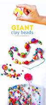 polymer clay ideas giant clay beads babble dabble do