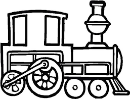 draw steam train coloring netart