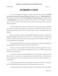 international bureau wipo international trademark wipo registration guidelines madrid pro