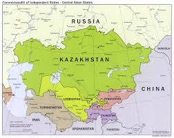Spain Map Quiz by Central Asia Physical Map Within Central Asia Map Spainforum Me