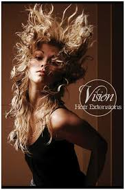 vision hair extensions hair extension poster picture