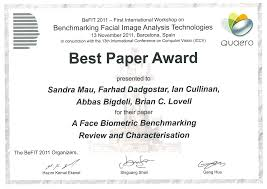 see out sandra mau best paper award masir